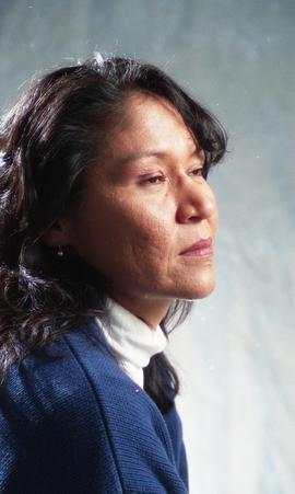 First Nations staff portraits, unnamed female 7 [6 of 7 photographs]