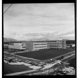 1960's Early construction of BCIT campus and buildings [17 of 21 photographs]