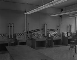 Instrumentation, 1966; a classroom with instrumentation equipment [1 of 4]