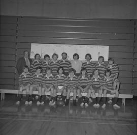 BCIT rugby men's team, 1973 [1 of 2]
