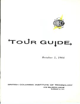 BCIT Tour guide, October 5, 1964