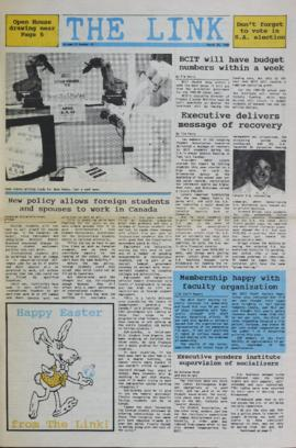 The Link Newspaper 1988-03-30
