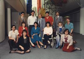 BCIT Alumni Association Board of Directors, 1986/1987