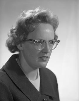 Briscall, Catherine Margaret (C.M.), Business Management, Staff portraits 1965-1967 (E) [3 of 4]