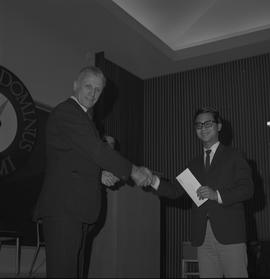 Student Scholarship Awards, BCIT, 1970 [3]