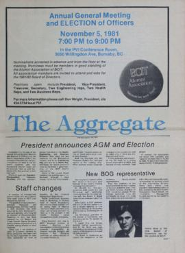 The Aggregate Fall 1981