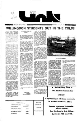 The Link Newspaper 1976-01-21