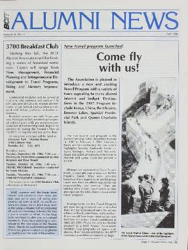 BCIT Alumni Association Newsletter 1986 Fall BCIT Alumni News