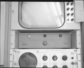 British Columbia Institute of Technology Broadcasting ; 1960s ; Ampex electronic editor model 105...