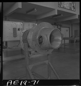 British Columbia Vocational School image of aircraft engine parts [9 of 9 photographs]