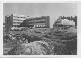 British Columbia Institute of Technology - Early building construction - front entrance - 1964