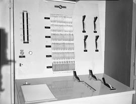 British Columbia Institute of Technology Broadcasting ; 1960s ; broadcasting equipment with vario...