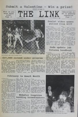 The Link Newspaper 1988-02-03