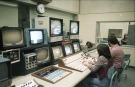 Broadcast Communications; television control room