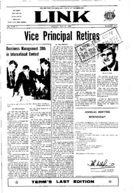The Link Newspaper 1968-05-13