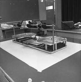 BCIT Programs Forestry Technology ; radial planimetric plotter (back view)