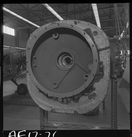British Columbia Vocational School image of aircraft engine parts [7 of 9 photographs]