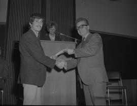 Student Scholarship Awards, BCIT, 1969 [4]