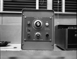 British Columbia Institute of Technology Broadcasting ; 1960s ; carousel random selector for a sl...