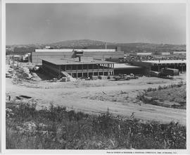 British Columbia Institute of Technology - U.B.C. IED building in construction, 1967