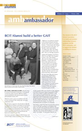 BCIT Alumni Association Newsletter 2006 Winter Alumni Ambassador
