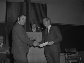 Student Scholarship Awards, BCIT, 1969 [25]