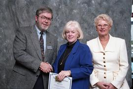 BCIT Staff Recognition Awards, 1996 ; Regina Trineer, 15 years