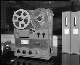 British Columbia Institute of Technology Broadcasting ; 1960s ; Ampex 601 portable, analog, reel-...