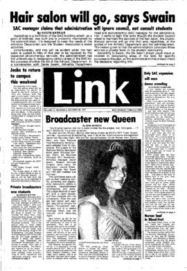 The Link Newspaper 1977-10-26