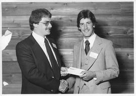 Alumni Awards, 1979, event photograph; recipient John Gannon
