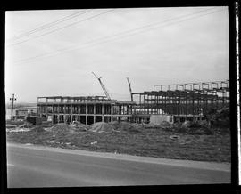 1960's Early construction of BCIT campus and buildings [8 of 21 photographs]