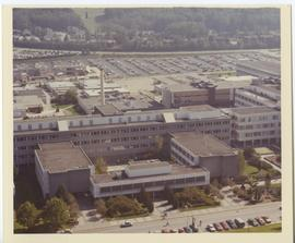 British Columbia Institute of Technology - Burnaby Campus - Aerial colour photograph