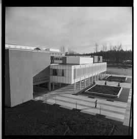 1960's Early construction of BCIT campus and buildings [19 of 21 photographs]