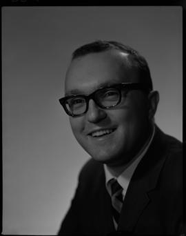 Wuhrer, Fred, Business Management, Staff portraits 1965-1967 (E) [5 of 5 photographs]