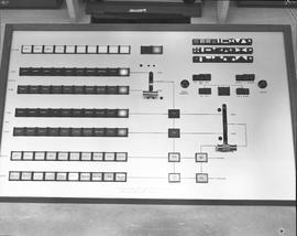 British Columbia Institute of Technology Broadcasting ; 1960s ; video control board