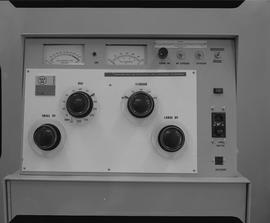 Medical radiography; control panel for an x-ray generator [2 of 2]