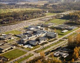 Arial photograph of BCIT ...