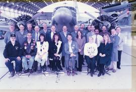 ATC staff group photo, 1997 (some of the staff)