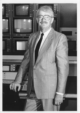 Robin Piercey, Broadcast Communication Associate Dean, 1990