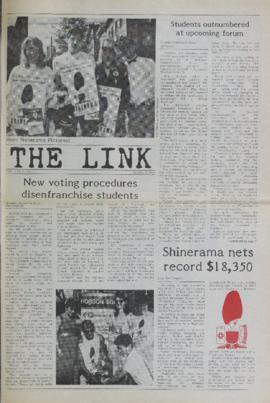 The Link Newspaper 1987-10-07