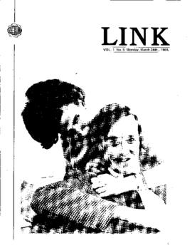 The Link Newspaper 1969-03-24