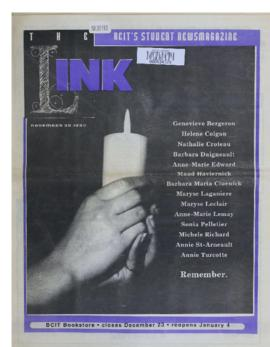 The Link Newspaper 1992-11-30
