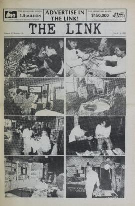 The Link Newspaper 1987-04-15