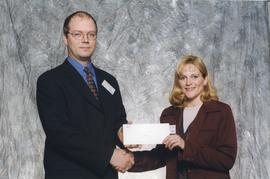 BCIT Alumni Association Entrance Awards, Oct. 27, 1999; Annika Lofstrand, presented by Kazamir Fa...