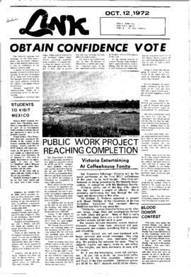 The Link Newspaper 1972-10-12