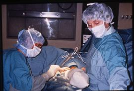 Advanced critical care studies, operating room, December 13, 1987 [6 of 9 photographs]