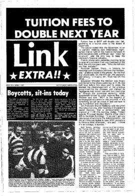 The Link Newspaper 1977-04-01