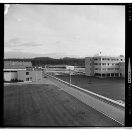 1960's Early construction of BCIT campus and buildings [18 of 21 photographs]