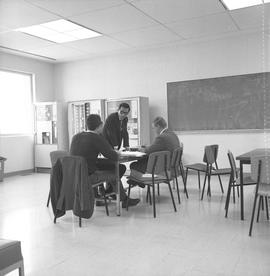 BCIT Library ; group of students studying