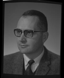 Burgel, Bruno, Physics, BCIT, Staff portraits 1965-1967 (E) [1 of 4]